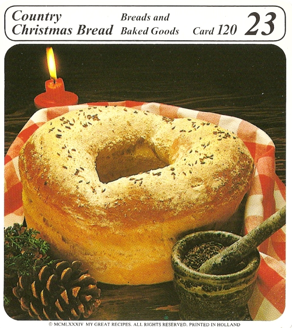 Country Christmas Bread