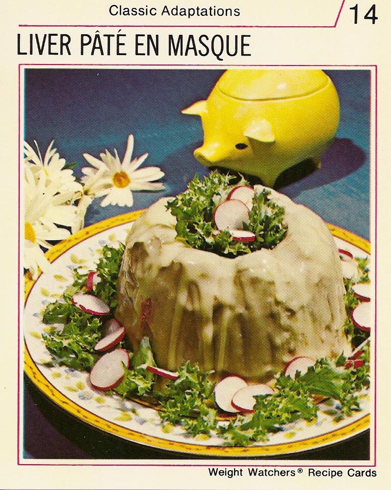 Liver pate en masque vintage recipe cards vintage recipe cards weight watchers international recipe cards 2 envelopes unflavored gelatin forumfinder Images