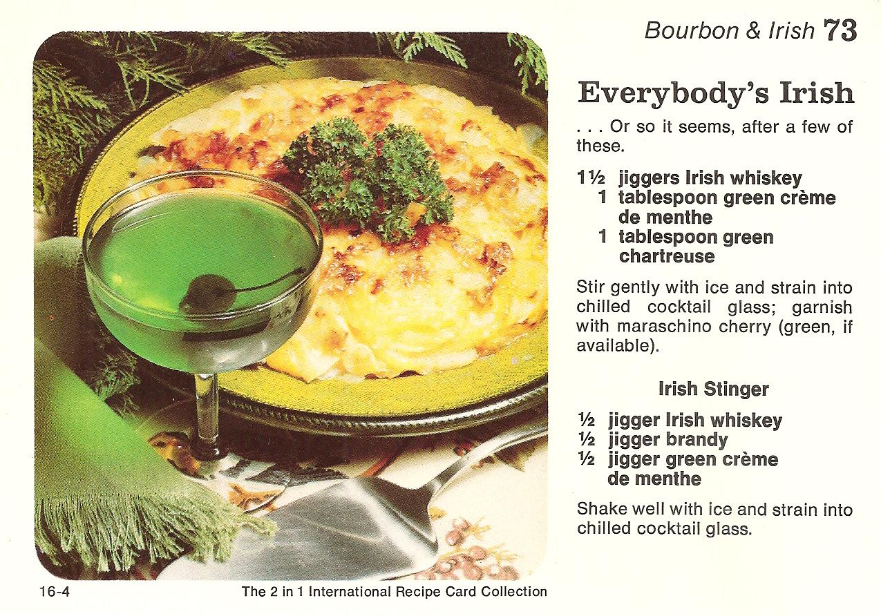 Everybodys irish haggerty vintage recipe cards everybodyirish forumfinder Gallery