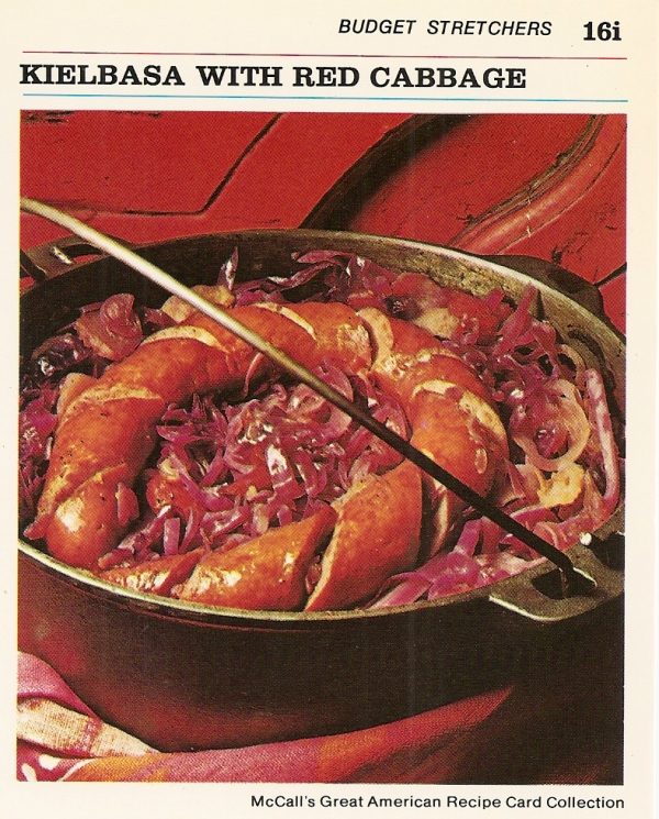 kielbasa_red_cabbage