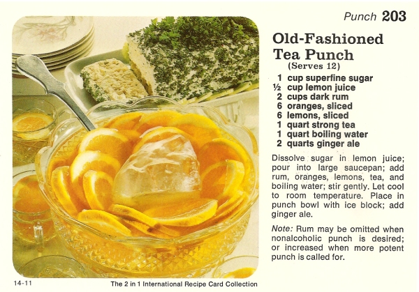Old fashioned punch
