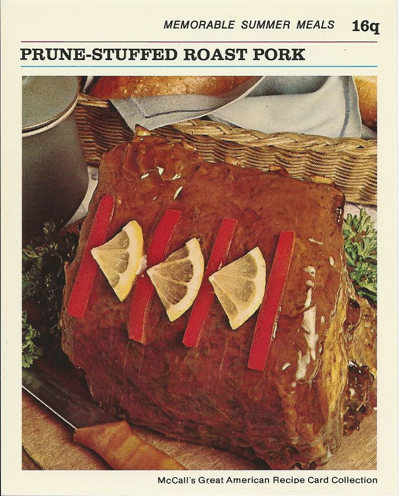Roast Pork With Brown Ale And Prunes Recipes — Dishmaps
