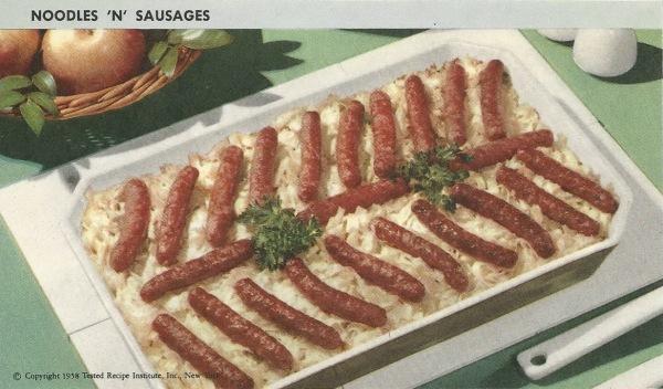 noodeles-sausages