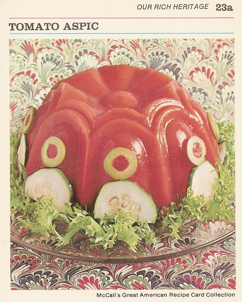 Tomaat in gelatine. Klinkt toch fantastisch?